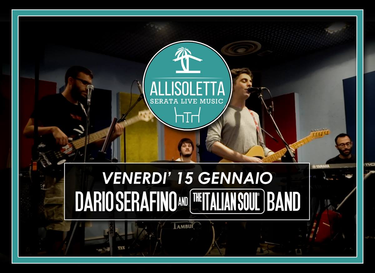 the italian soul band allisoletta