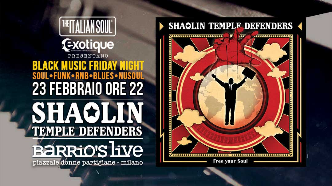 Shaolin Temple Defenders Barrios The Italian Soul