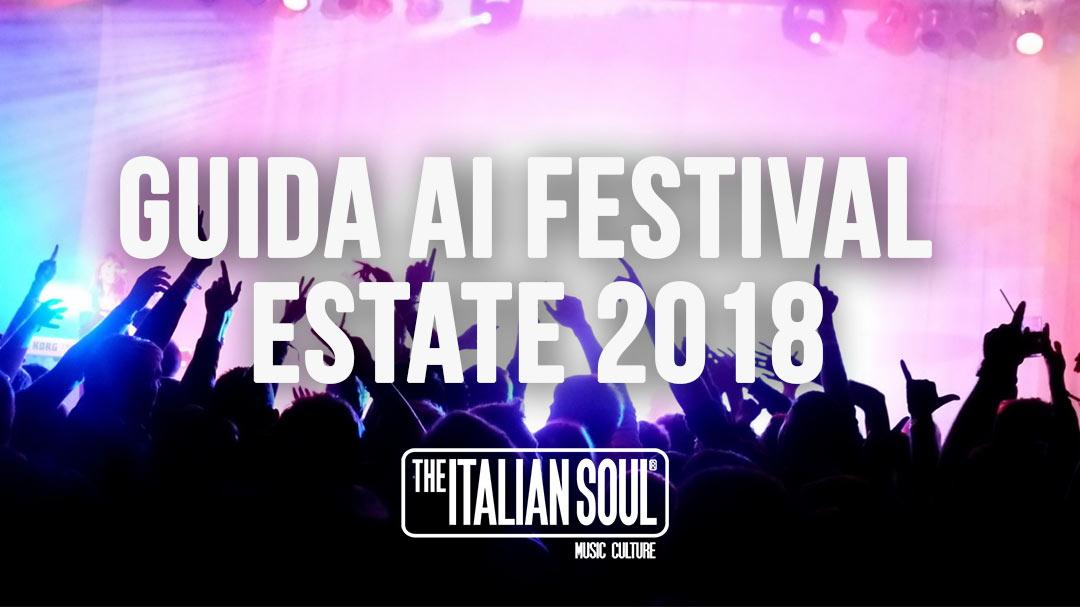 Guida Ai Festiva Estate 2018