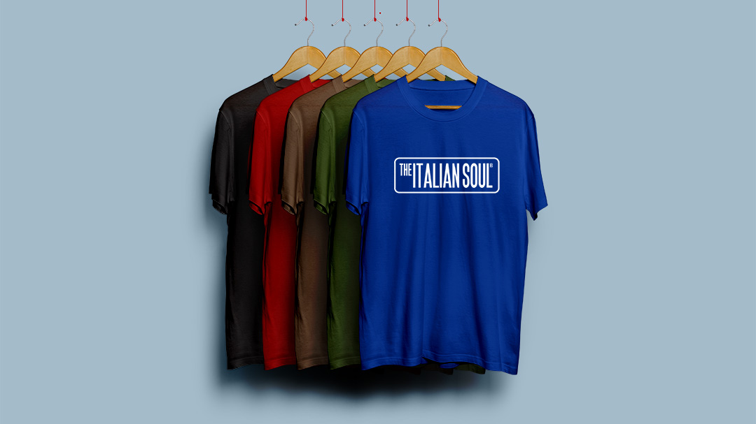 The Italian Soul T-Shirt Colors