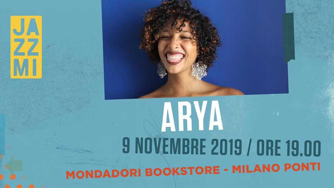 Arya live al JazzMi