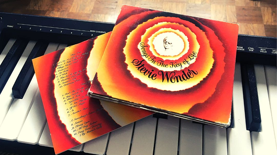"Stevie Wonder ""Songs in the Key of Life"""