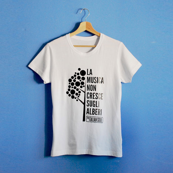 T-Shirt - La Musica Non Cresce Sugli Alberi - The Italian Soul
