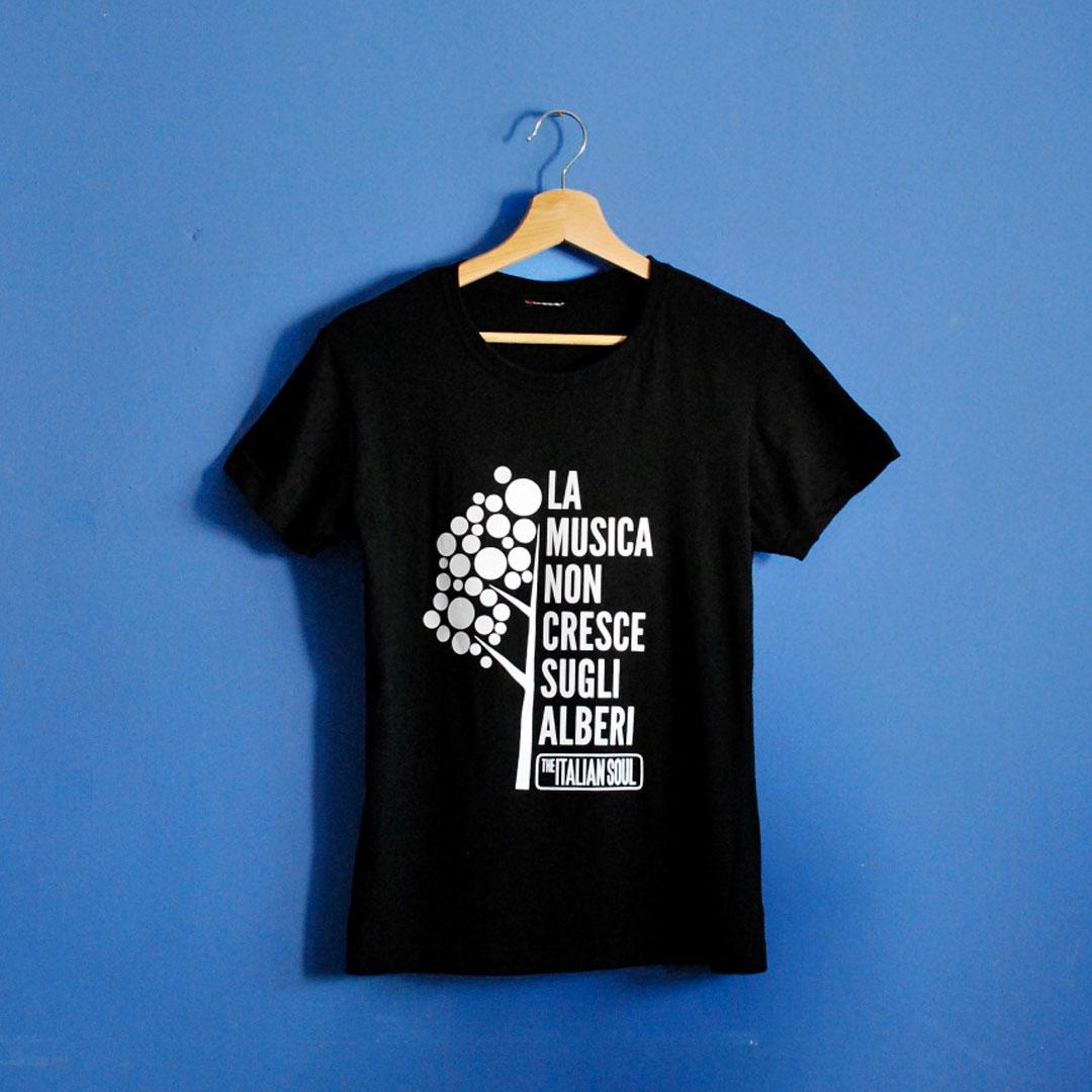La Musica Non Cresce Sugli Alberi T-Shirt - The Italian Soul