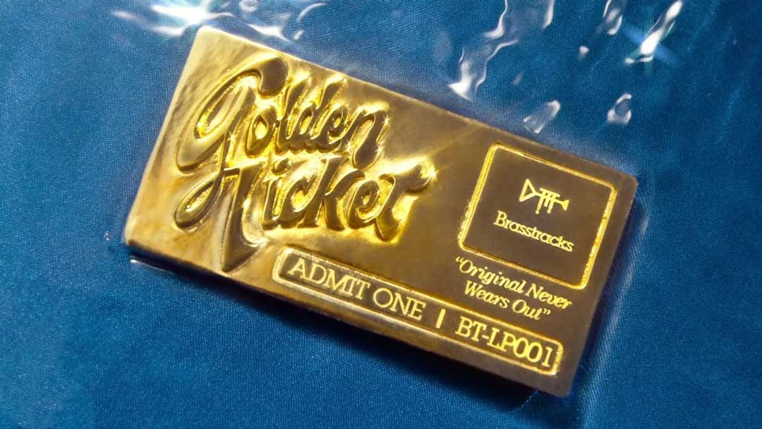 Brasstracks - Golden Ticket